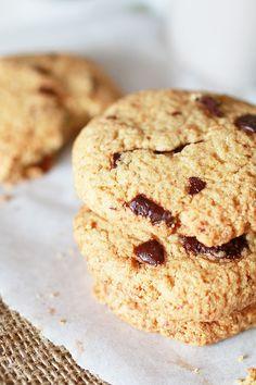 Biscotti con Gocce di Cioccolato e Farina di Avena (Senza Glutine)