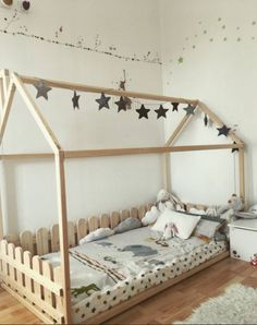 House shaped bed, Montessori bed or toddler bed, floor bed FULL QUEEN