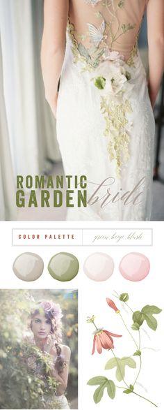 Romantic Garden Brid