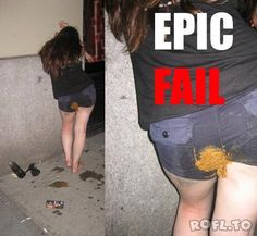 Are mistaken. Drunk girl poop fail does