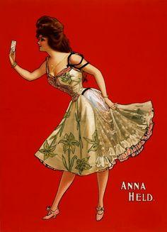 Actress Anna Held (1872-1918)