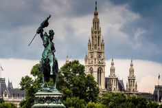 Top Things to do in Vienna in 2 days - Vienna City Hall from Heldenplatz