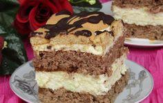Cake Recipes, Dessert Recipes, Desserts, Polish Recipes, Polish Food, Sweets Cake, Food Cakes, Cake Cookies, Tiramisu