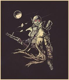Tagged with gaming, memes, fallout dump, fallout new vegas; Shared by Patrolling the Mojave almost makes you wish for a nuclear winter. Fallout Art, Fallout Tattoo, Fallout Posters, Fallout Concept Art, The Elder Scrolls, Diesel Punk, Cyberpunk, Ncr Ranger, Nuclear Winter