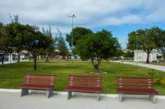 É só sentar e admirar - Praça da Faculdade