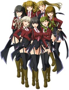 The sin sisters from Umineko :D Satan <3 <3 <3 LUCIFER!!