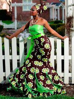 une belle robe de cérémonie