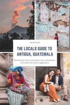 Best things to do in Antigua, Guatemala. Once the capital of Guatemala, Antigua's colorful streetscapes are ne South America Destinations, South America Travel, Travel Destinations, Tahiti, Honduras, Atitlan Guatemala, Costa, Guatemala City, Lake Atitlan