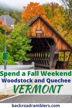 Planning a Vermont vacation for this summer or fall? Woodstock VT is one of the most charming villages in Vermont, and worth a visit in every season. Here are the best things to do in Woodstock, VT, including where to stay, where to eat, our our favorite Woodstock Vermont hiking trails, and the best covered bridges near Woodstock and Quechee.