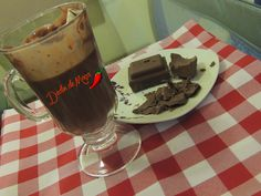 Dedin de Moça: Chocolate Quente Cremoso