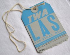 Check out our airline luggage tags selection for the very best in unique or custom, handmade pieces from our luggage tags shops. Domestic Airlines, Turquoise Blue Color, Old Suitcases, Luggage Labels, Vintage Luggage, Las Vegas Nevada, Xmas Gifts, Bracelets For Men, Tags