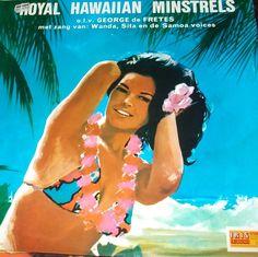 Royal Hawaiian Minstrels O.L.V. George De Fretes ORIGINAL IRIS IMPORT LP Record