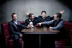 Hobbits Reunion : Billy Boyd, Elijah Wood, Dominic Monaghan & Sean Astin by Sarah Dunn