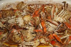 Garlic Crab. Photo by jamaicans