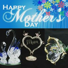 Gift of Glass Blown Glass Art, Happy Mothers Day, Display, Sculpture, Gift Ideas, Gifts, Floor Space, Presents, Billboard