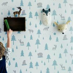 Into the Wild Wallpaper from Hibou Home