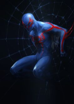 #Spiderman #2099 #Fan #Art. (Spidy 2099) By: Fenrir--the-2nd. ÅWESOMENESS!!!™ ÅÅÅ+