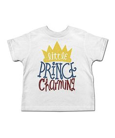 Another great find on #zulily! White 'Prince Charming' Tee - Toddler & Boys #zulilyfinds