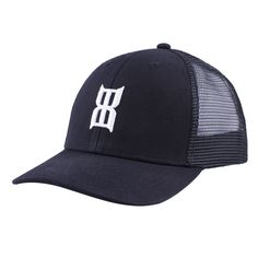 bad1cec876 BEX BLACK STEEL Kids Cap - Black Mesh Cap
