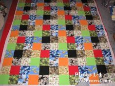 How to Make a Comforter - Crib, Twin, Full, or Queen - Quilt Top