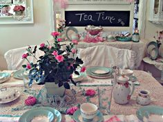 Penny's Vintage Home: Tea Time