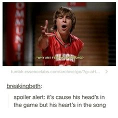 High School Musical humor