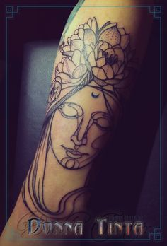 Woman's Face by www.donna-tinta.de