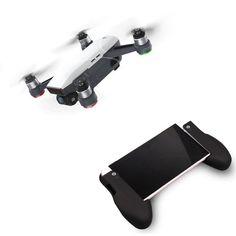 Teléfono Tablet Hand Shank Holder mango agarre para DJI Spark Cuadricóptero RC