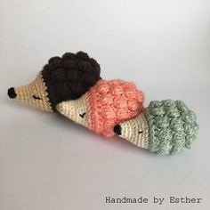 64 Super Ideas For Crochet Patrones Gratis Amigurumi Haken Crochet Gratis, Crochet Mittens, Crochet Patterns Amigurumi, Crochet Fall, Diy Crochet, Crochet Toys, Crochet Hedgehog, Knitted Dolls, Crochet For Beginners