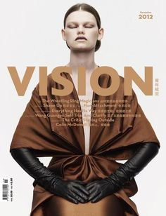 Vision, November 2012 #cover | Kelly Mittendorf by Tisch