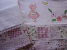 Enxoval de bebe - jogo de lençol com 3 peças, pode ser confeccionado para berço, mini berço ou mini cama Confeccionado por Maete Atelier www.facebook.com/maete.atelier teresi@globo.com