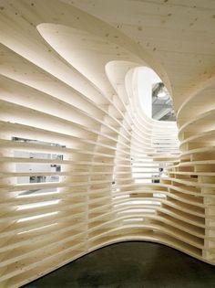 Perfect Lignum Pavilion / Frei + Saarinen Architekten Good Looking