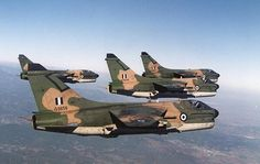 Greek Air Force Vought A-7E Corsairs.