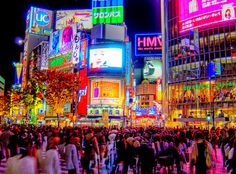 Reason to go to Tokyo: Getting lost in the colors and crowds