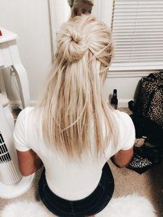 15 peinados de chongos rápidos para ir a la escuela