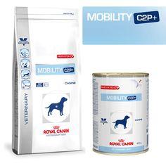 Royal Canin Veterinary Diet Mobility C2P+ Mobility Hundefutter für Hunde mit Gelenkproblemen Royal Canin Veterinary Diet Mobility C2P+ Hundefutter in Dosen und als Trockenfutter ist ein Diätfuttermittel und Sie erhalten...