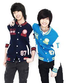 YoungMin 영민 and KwangMin 광민 from Boyfriend 보이프렌드