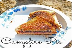 Pie Sandwich: Campfire Cooking {recipes}