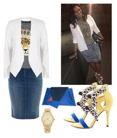 """Inspired by Ruth La'Ontra"" by church-fashion on Polyvore featuring Armani Jeans, Juicy Couture, River Island, Georgina Skalidi and Michael Kors"