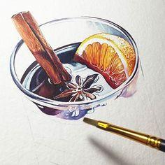Watercolorist: @elena_melnikova_art #waterblog #акварель #aquarelle #painting #drawing #art #artist #artwork #painting #illustration #watercolor #aquarela