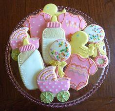Biscuits shower de bébé /  Baby shower cookies