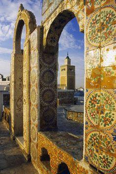Tunisia. Tiles
