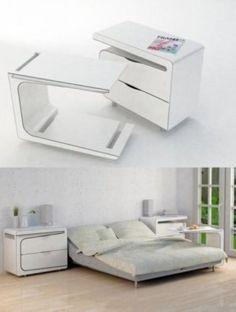 Interesting bedside cupboard