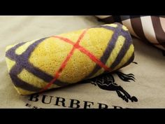 Burberry Swiss Roll Cake | バーバリーのロールケーキ - YouTube