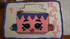 Shopkins sheet cake