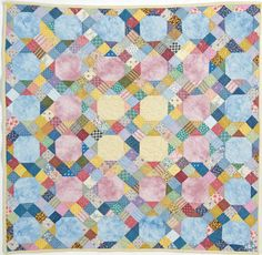 """Merry-Go-Round Nine-Patch"" by Deborah Hearn (from The Quilter October/November 2012 issue)"