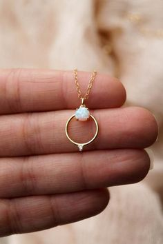 Ophelia Opal Necklace Gold Opal Necklace Boho Necklace Dainty Gold Necklace Celestial Necklace Galaxy Necklace Reward for Her Tiffany Jewelry, Ruby Jewelry, Dainty Jewelry, Simple Jewelry, Boho Jewelry, Bridal Jewelry, Jewlery, Jewelry Ideas, Fine Jewelry