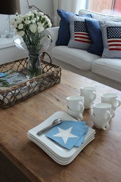 Ready for coffee. Home, new england style, stars, Lexington, Riviera Maison.