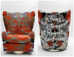 "Todd Merrill Custom Originals X OLEK, ""#Regret"" Swivel Throne, USA, 2015 - Todd Merrill"