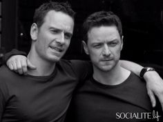 WATCH: Michael Fassbender & James McAvoy Are A Sexy Duo in 'Details' Behind-The-Scenes Video